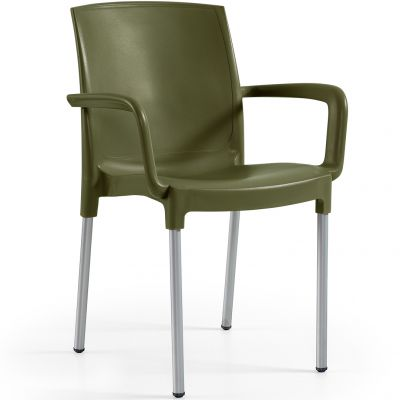 Claire Arm Chair (Olive)