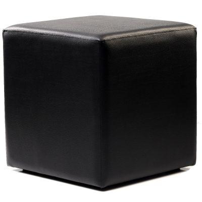 Cube Low Stool (Black)