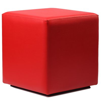 Cube Low Stool (Red)