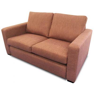 Denver Two Seater Sofa (Terracotta)
