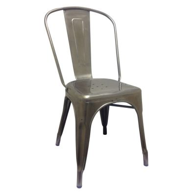 French Bistro Side Chair (Clear Lacquer)