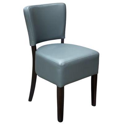 Memphis Standard Side Chair (Grey / Walnut)