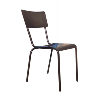 School Stacking Side Chair (Metal)