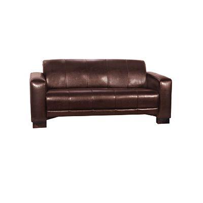 Tiger Three Seater Sofa (Margo Dark Brown)