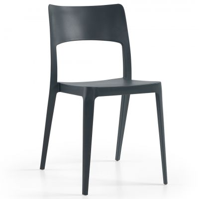 Vanity Side Chair (Anthracite)