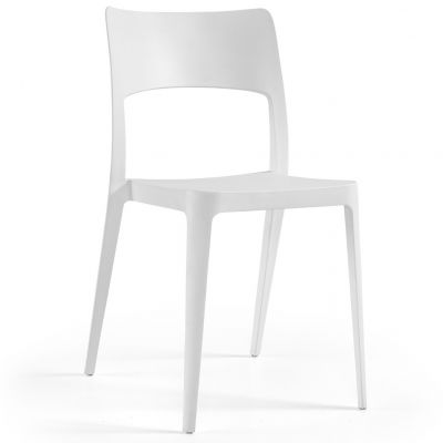 Vanity Side Chair (White)