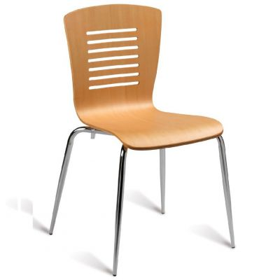 Verona Side Chair (Clear Lacquer)