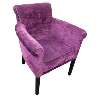 Golf Carver Chair (Grape Velvet)