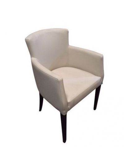 Omega Carver Chair (Ivory Faux)