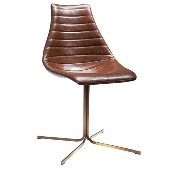 Arkan Driver Side Chair Cross (Black/Brown)