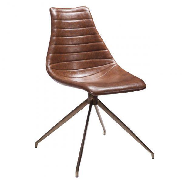 Arkan Driver Side Chair Splay (Black/Brown)