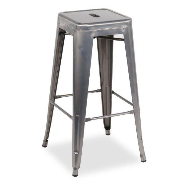 Bistro Steel High Stool 66