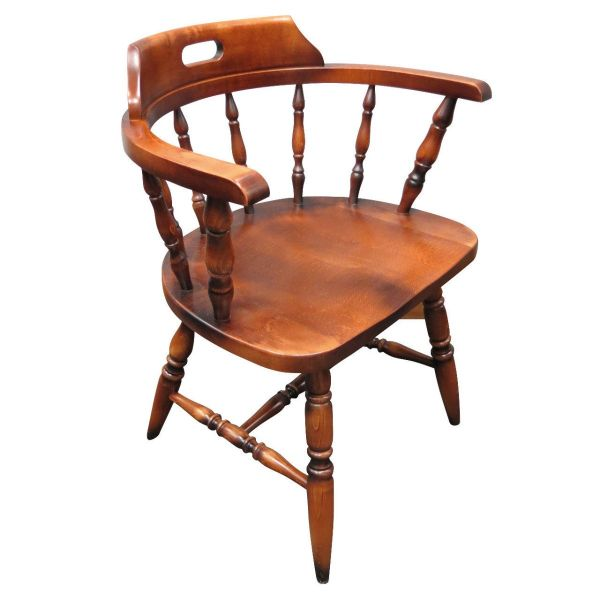 Captains Arm Side Chair