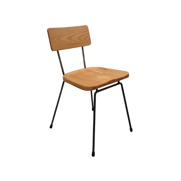 College Side Chair (Gunmetal/Ash)