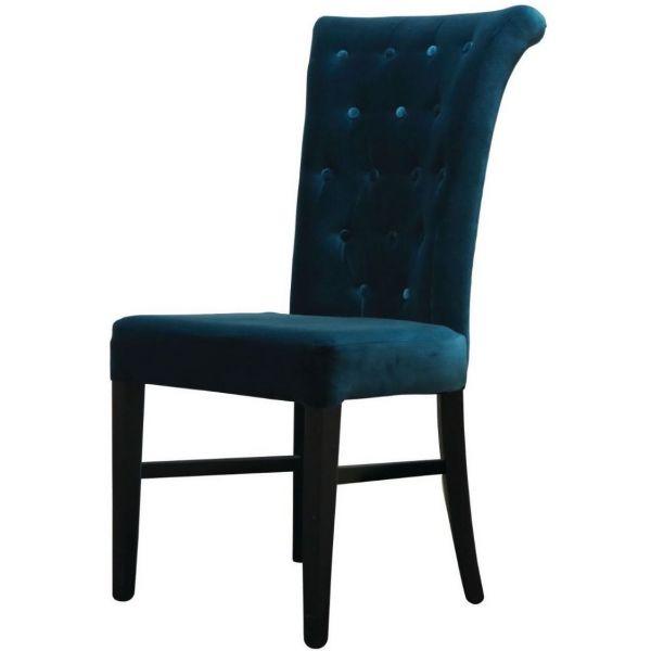 Kempton Scroll High Back Side Chair