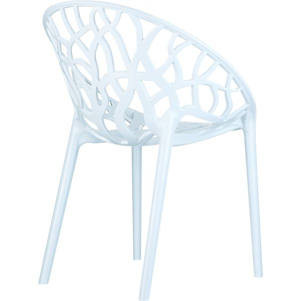 Crystal Chair (Glossy White)