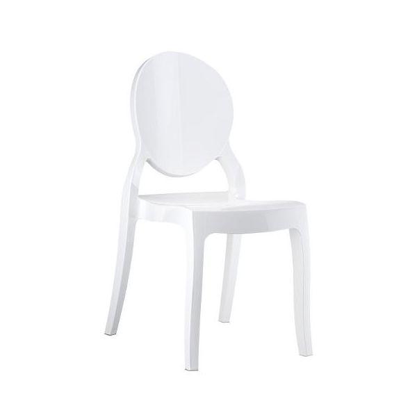 Elizabeth Chair (Glossy White)