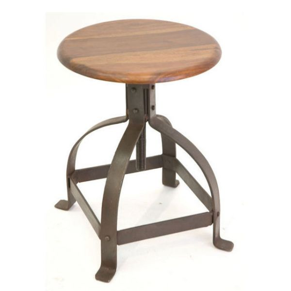 Industrial Low Stool 36